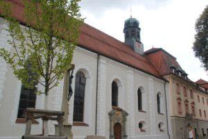 Langhaus Kirche Kloster Wald