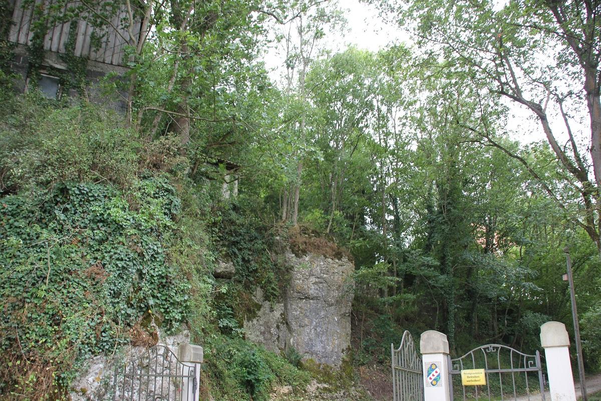 Mauerreste Burg Klingenstein