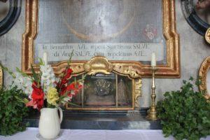 Reliquie Kloster Wald