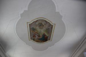 Deckenmalerei St Anna Vogt
