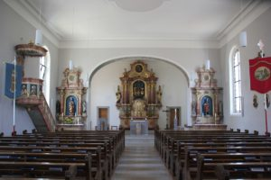 Innenraum St Anna Vogt
