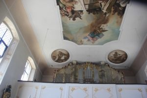 Ovale Deckenbilder Kirche Ahlen
