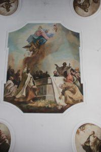 Zentrales Deckenbild Kirche Ahlen