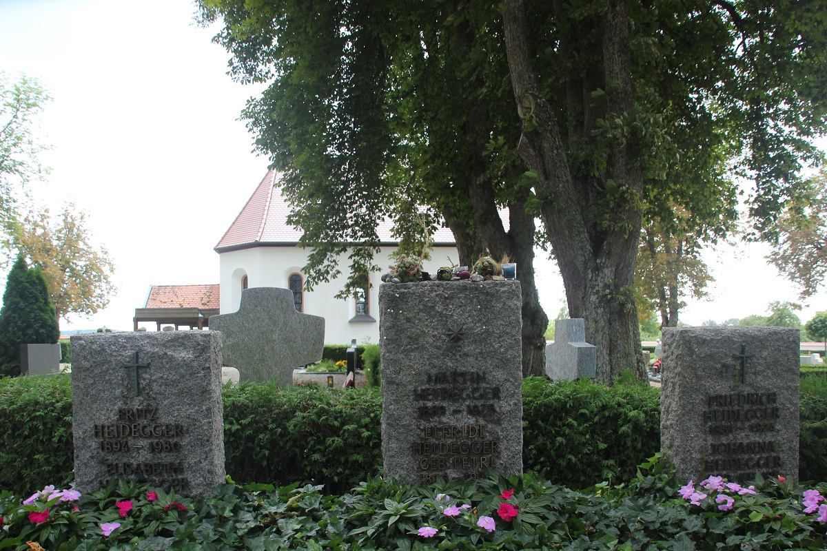 Grab von Martin Heidegger Friedhof Messkirch