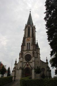 Neogotische St Konrad Kirche Langenenslingen