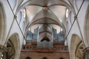 Orgel St Konrad Kirche Langenenslingen