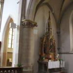 Seitenaltar St Konrad Kirche Langenenslingen