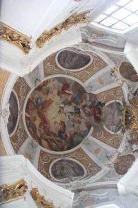 Apsis-Stuck St Martinskirche Messkirche