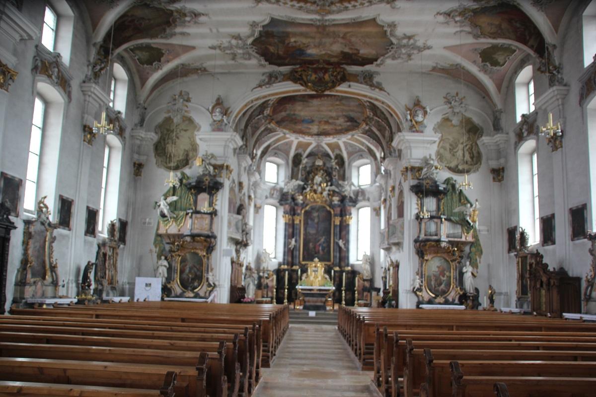 Barocke St Martinskirche Messkirche