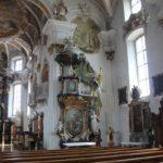 Barocker Seitenaltar St Martinskirche Messkirche