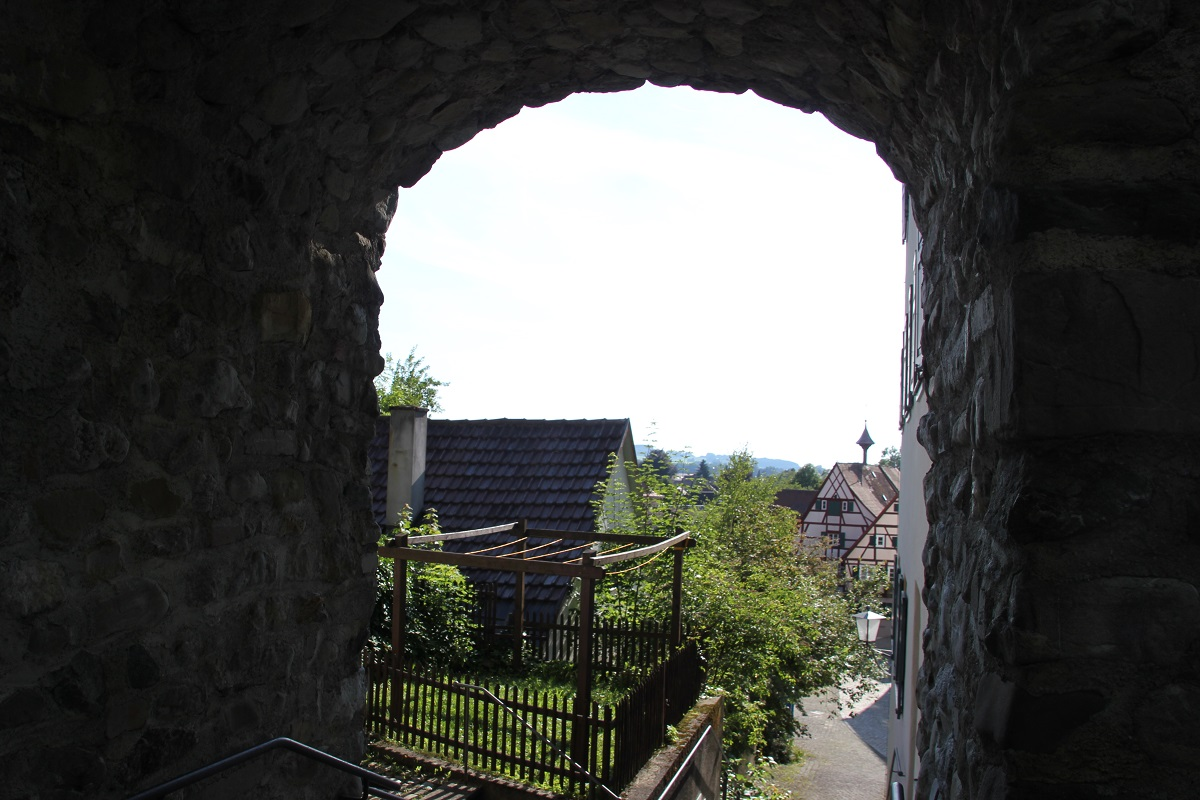 Durchgang Geistliches Viertel Leutkirch