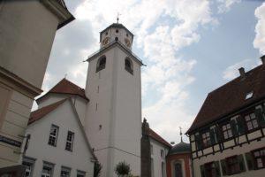Kirchturm St Martin Messkirche