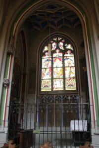 Seitenkapelle Buntfenster Muenster Konstanz