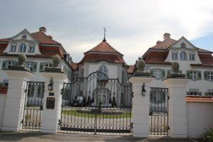 Eingangstor Schloss Rimpach