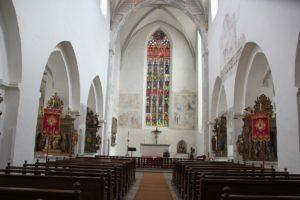 Apsis Malereien Kirche Kloster Heiligkreuztal Altheim