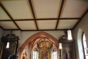 Gotischer Rundbogen Kirche Billafingen