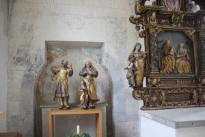 Kloster Heiligkreuztal Altheim Barocke Figuren Gotische Malerei