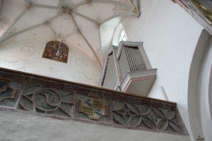 Kloster Heiligkreuztal Altheim Empore Wappen