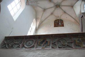 Kloster Heiligkreuztal Altheim Emporenstuck