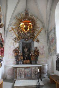 Kloster Heiligkreuztal Altheim Seitenaltar