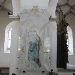 Kloster Heiligkreuztal Altheim St Anna Wandmalerei