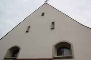 Schiessscharten einer Wehrkirche St Mauritius Billafingen