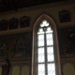 Spitzbogenfenster Kirche Pfaerrenbach