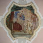 Deckenmalerei St Ottilia Muehlhausen