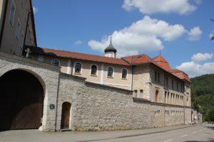 Einfahrt zum Kloster Beuron