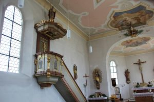 Kanzel St Ottilia Muehlhausen