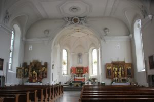 Klassizistischer Innenraum Mariae Heimsuchung Meersburg