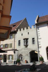 Mittelbau des Salmansweiler Hofs Ueberlingen