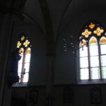 Neogotische Fenster Kirche St Martin Erolzheim