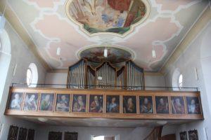 Orgel St Ottilia Muehlhausen
