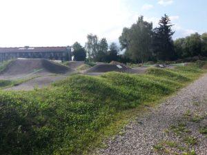 Pumptrack BMX Strecke Biberach