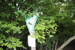 Schild Naturschutzgebiet Mauchenmuehle