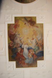 Deckenbild St Peter und Paul Herdwangen