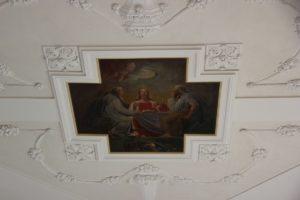 Deckengemaelde St Peter und Paul Herdwangen