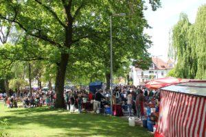 Flohmarkt in Oberschwaben
