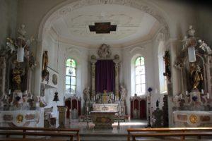Innenraum St Peter und Paul Herdwangen