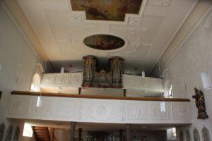 Orgel St Peter und Paul Herdwangen