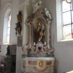 Rechter Seitenaltar St Peter und Paul Herdwangen