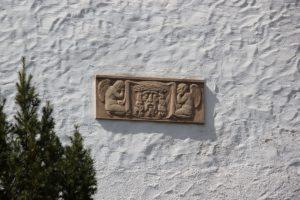 Relief Aussenwand St Peter und Paul Herdwangen