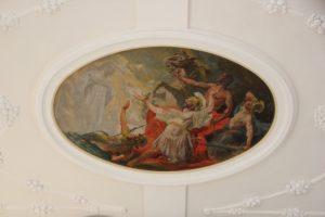 Rundes Deckenbild St Peter und Paul Herdwangen