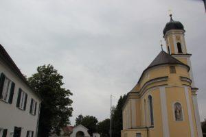 Seitenansicht St Blasius Bellamont