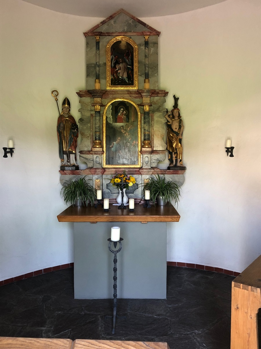 Barocker Altar der Stephanuskapelle Eisenharz