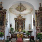 Chorraum St Odilia Kirche Fischbach