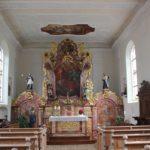Barocker Altar St Georg Untereggatsweiler
