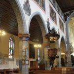 Gotische Wandmalerei St Stephan Konstanz