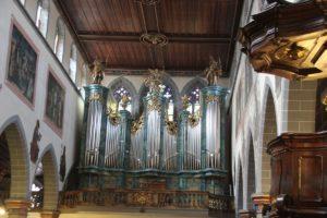Kanzel Orgel St Stephan Konstanz